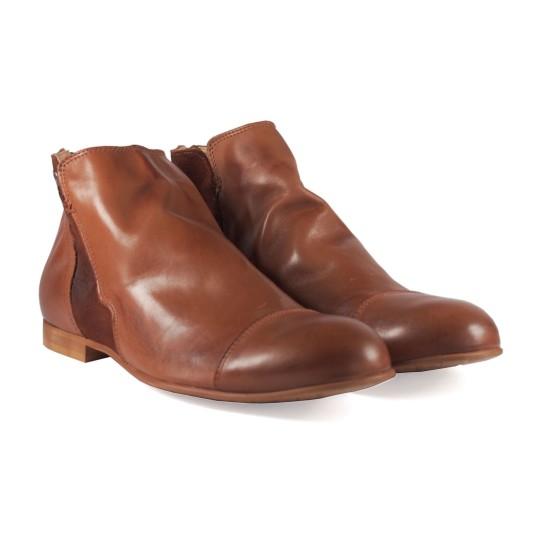 נעליים אלגנטיות נו ברנד לגברים NOBRAND Pacific - חום בהיר