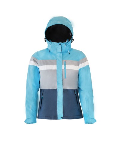 בגדי חורף ICEPEAK לנשים ICEPEAK KATIA - אפור/כחול