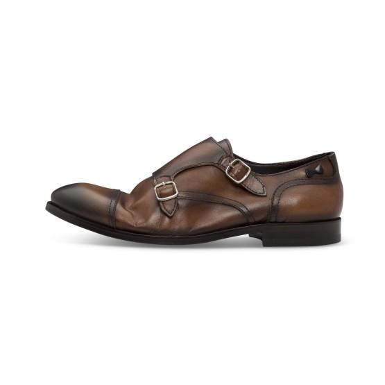 נעליים אלגנטיות פיוקו נרו לגברים FIOCCO NERO MONKS 573 - קאמל
