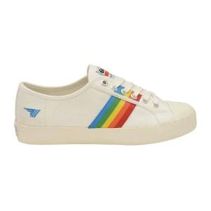 מוצרי גולה לנשים Gola Coaster Rainbow - לבן