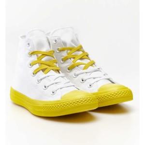 נעלי הליכה קונברס לנשים Converse Chuck Taylor High Top - צהוב