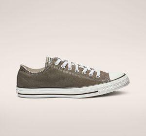 נעלי סניקרס קונברס לגברים Converse Chuck Taylor Low Top - חום כהה