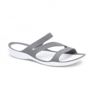 מוצרי Crocs לנשים Crocs Swiftwater Sandal - אפור בהיר