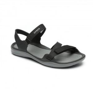 מוצרי Crocs לנשים Crocs Swiftwater Webbing Sandal - שחור
