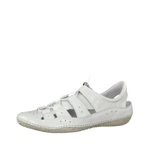 מוצרי Jana לנשים Jana Lace Up Shoe - לבן