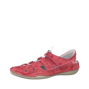 מוצרי Jana לנשים Jana Lace Up Shoe - ורוד