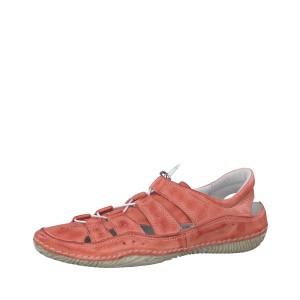 מוצרי Jana לנשים Jana Lace Up Shoe - כתום