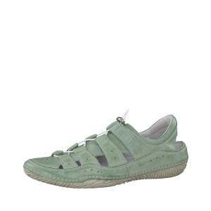 מוצרי Jana לנשים Jana Lace Up Shoe - ירוק
