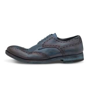 נעליים אלגנטיות פיוקו נרו לגברים FIOCCO NERO BROGUES 568 - כחול