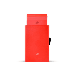 מוצרי סי-סקורי לנשים C-Secure Card Holder - אדום