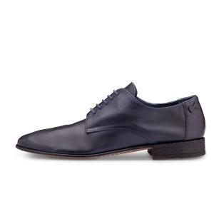 נעליים אלגנטיות פיוקו נרו לגברים FIOCCO NERO DERBIES 550 - כחול