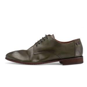 נעליים אלגנטיות פיוקו נרו לגברים FIOCCO NERO DERBIES 550 - ירוק