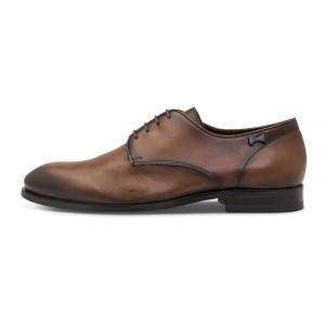 נעליים אלגנטיות פיוקו נרו לגברים FIOCCO NERO DERBIES  570 - חום