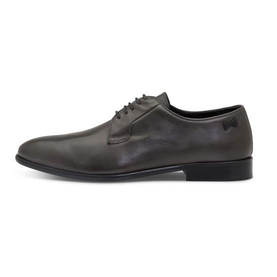 נעליים אלגנטיות פיוקו נרו לגברים FIOCCO NERO DERBIES 574 - אפור