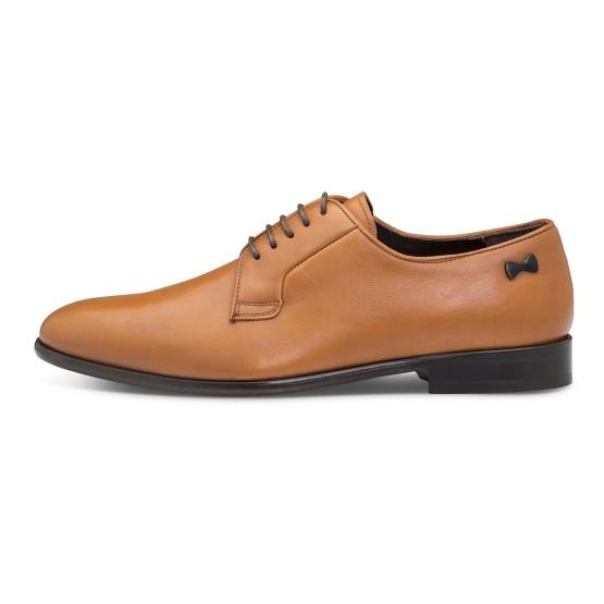 נעליים אלגנטיות פיוקו נרו לגברים FIOCCO NERO DERBIES 574 - קאמל