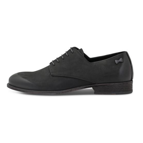 נעליים אלגנטיות פיוקו נרו לגברים FIOCCO NERO DERBIES 575 - שחור