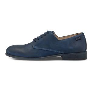 נעליים אלגנטיות פיוקו נרו לגברים FIOCCO NERO DERBIES 575 - כחול
