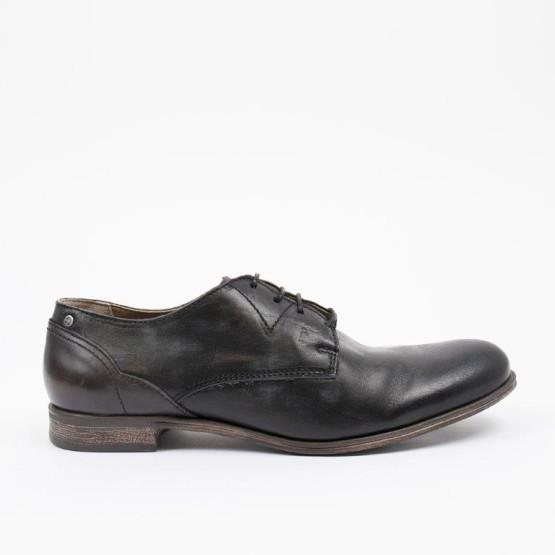 נעליים אלגנטיות סניקי סטיב לגברים Sneaky Steve Dirty Low - שחור