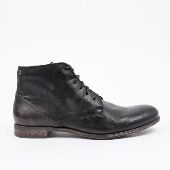 נעליים אלגנטיות סניקי סטיב לגברים Sneaky Steve Dirty Mid - שחור