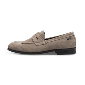 נעליים אלגנטיות פיוקו נרו לגברים FIOCCO NERO LOAFERS 576 - אפור
