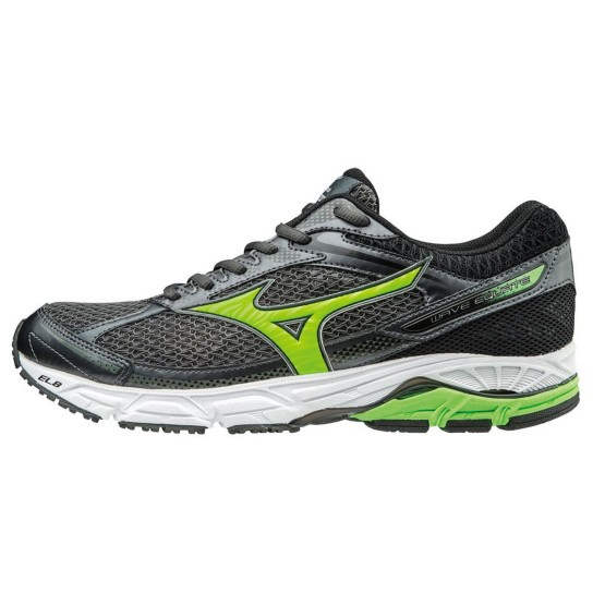 נעליים מיזונו לגברים Mizuno WAVE EQUATE - שחור/ירוק