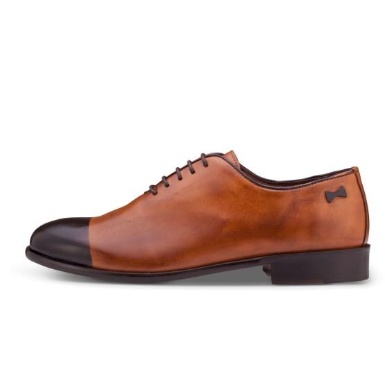נעליים אלגנטיות פיוקו נרו לגברים FIOCCO NERO OXFORDS  553 - קאמל