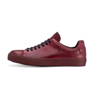 נעליים פיוקו נרו לגברים FIOCCO NERO SNEAKERS  551 - בורדו
