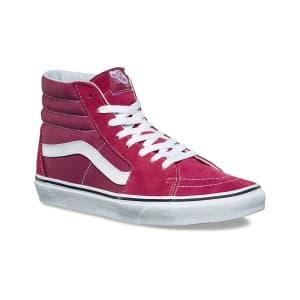 נעלי הליכה ואנס לנשים Vans SK8 HI - בורדו