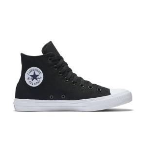 מוצרי קונברס לנשים Converse Chuck Taylor II High Top - שחור/לבן