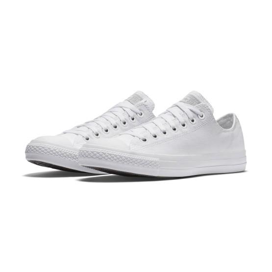 נעלי הליכה קונברס לנשים Converse Chuck Taylor Low Top - לבן מלא