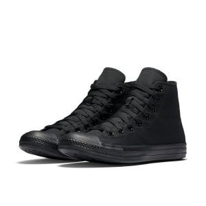 נעלי הליכה קונברס לנשים Converse Chuck Taylor High Top - שחור מלא