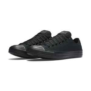 נעלי הליכה קונברס לנשים Converse Chuck Taylor Low Top - שחור מלא