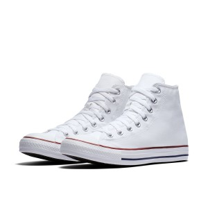 נעליים קונברס לגברים Converse Chuck Taylor High Top - לבן