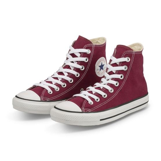 נעלי הליכה קונברס לנשים Converse Chuck Taylor High Top - בורדו