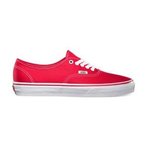 נעלי סניקרס ואנס לגברים Vans Authentic - אדום