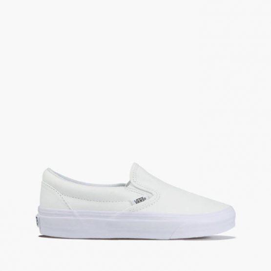 נעלי סניקרס ואנס לגברים Vans Slip On - לבן