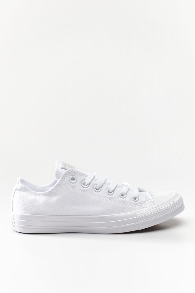 נעליים קונברס לגברים Converse Chuck Taylor Low Top - לבן מלא