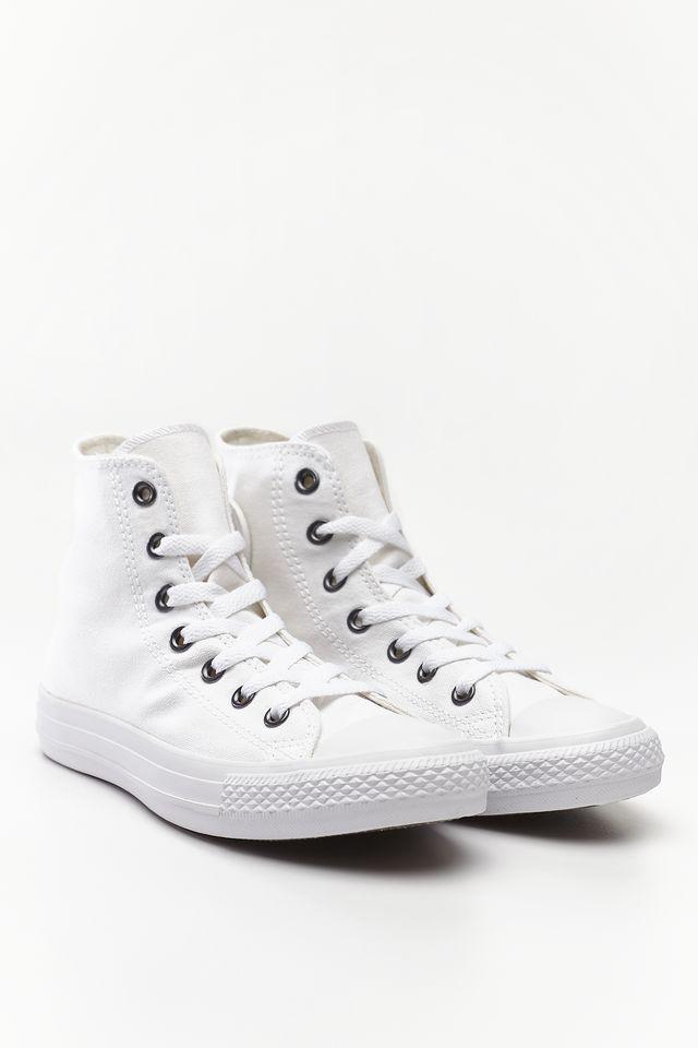 נעלי הליכה קונברס לנשים Converse Chuck Taylor High Top - לבן מלא