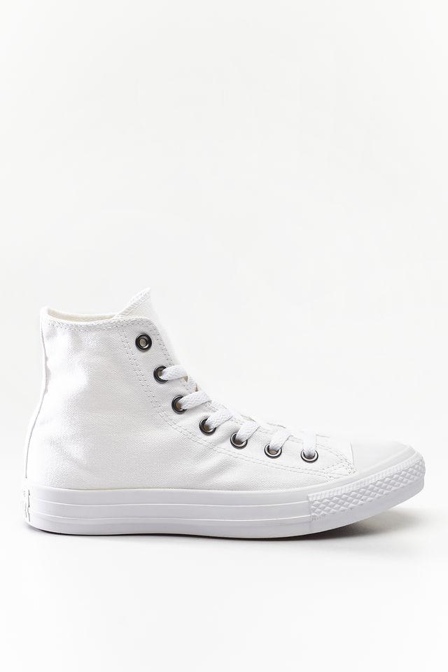 נעליים קונברס לגברים Converse Chuck Taylor High Top - לבן מלא