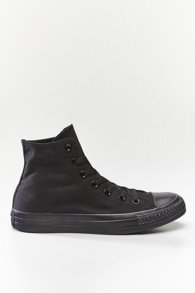 נעליים קונברס לגברים Converse Chuck Taylor High Top - שחור מלא