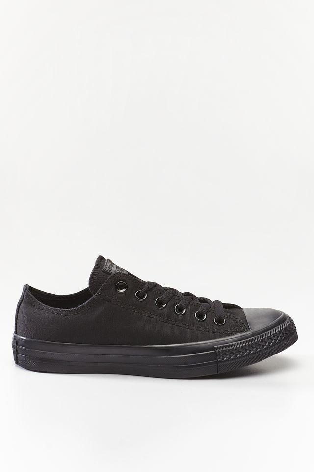 נעליים קונברס לגברים Converse Chuck Taylor Low Top - שחור מלא