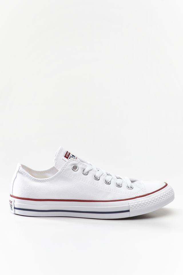 נעליים קונברס לגברים Converse Chuck Taylor Low Top - לבן