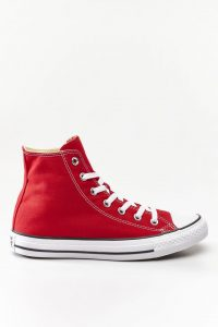 נעלי סניקרס קונברס לגברים Converse Chuck Taylor High Top - אדום