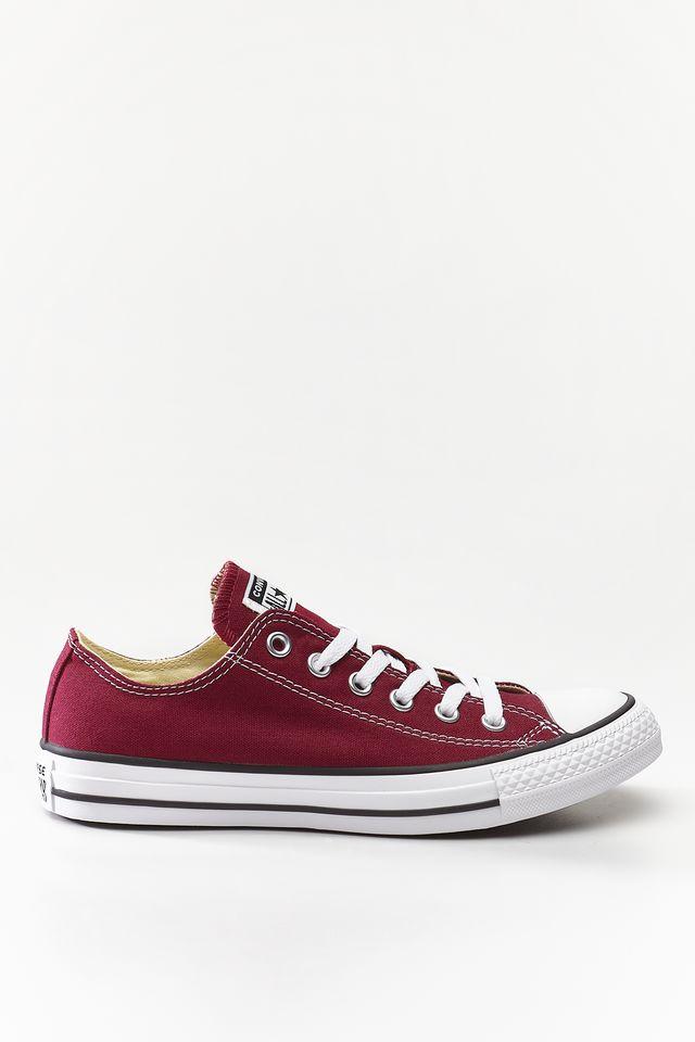 נעליים קונברס לגברים Converse Chuck Taylor Low Top - בורדו