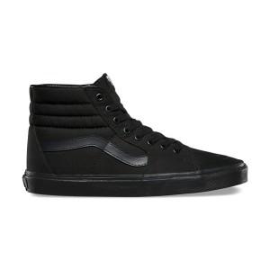 נעלי הליכה ואנס לנשים Vans SK8 HI - שחור מלא
