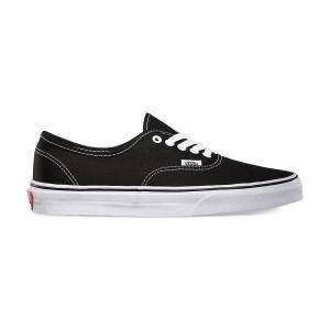 נעלי הליכה ואנס לנשים Vans Authentic - שחור/לבן