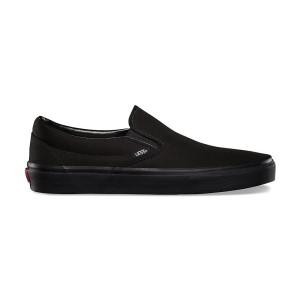 נעלי הליכה ואנס לנשים Vans Slip On - שחור מלא