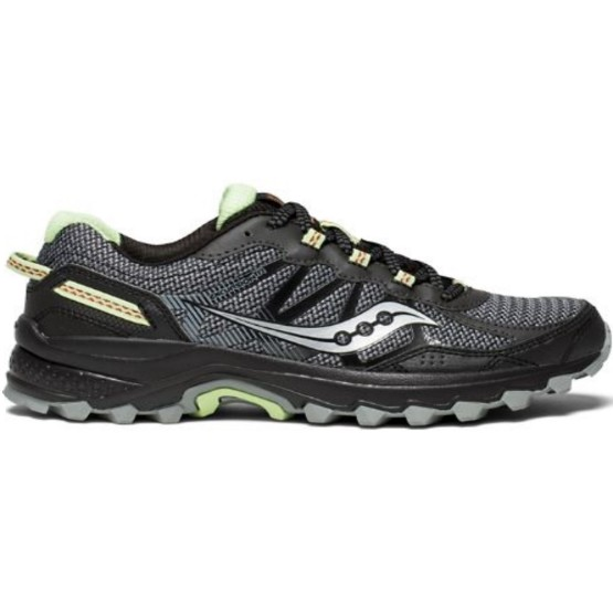 נעליים סאקוני לנשים Saucony EXCURSION TR11 - שחור/ירוק