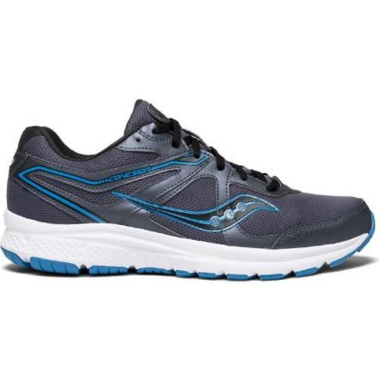 נעליים סאקוני לגברים Saucony COHESION 11 - אפור/כחול