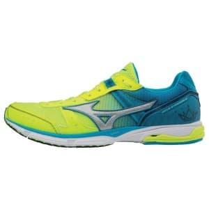 נעליים מיזונו לגברים Mizuno WAVE EMPEROR - כחול/ירוק